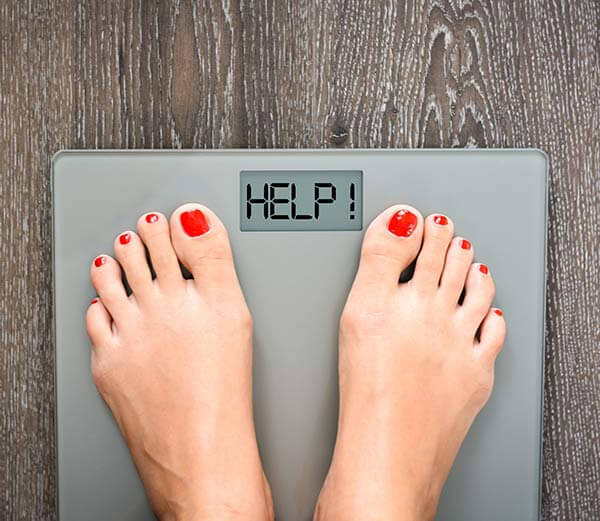 Perte de poids et balance