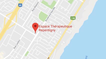 Massage Repentigny - Google Map